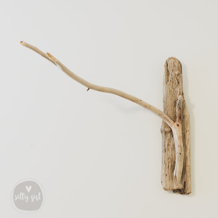 Driftwood Pendant Wall Lamp With Open Bottom Mason Jar Shade