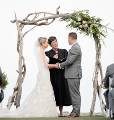 Driftwood Arch for Wedding Venues & Wedding Rentals