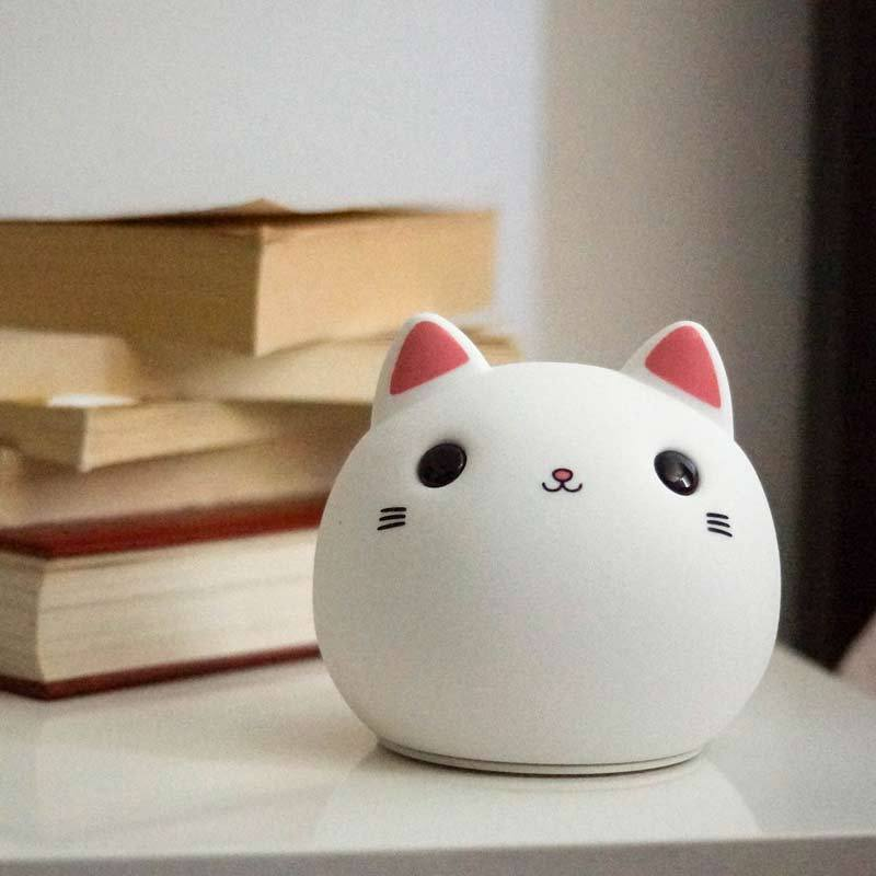 Lampe Veilleuse Chat Chat Led Lampe zMVpqSU