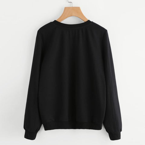 Sweat-shirt Pull Chat Minimaliste - LeChatQuiBoude