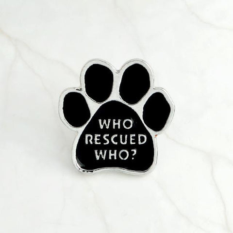 Pin's Chat - Broche patte de chat - www.lechatquiboude.com