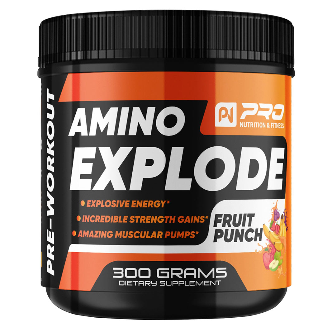 Amino Explode - All Natural Pre-workout