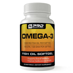 Fish Oil - DHA / EPA 600 mg of Omega-3's