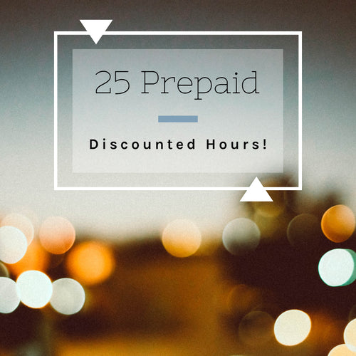 25 Prepaid and Discounted Labor Hours for Anything