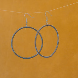 Axle Spring Hoop Earrings