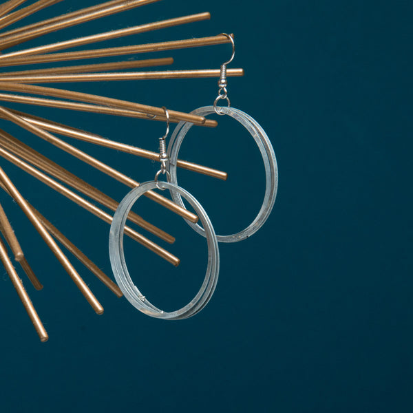 Triple Ring Hoop Earrings