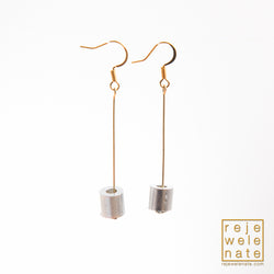 Earrings with Aluminum Aircraft Cable Stops