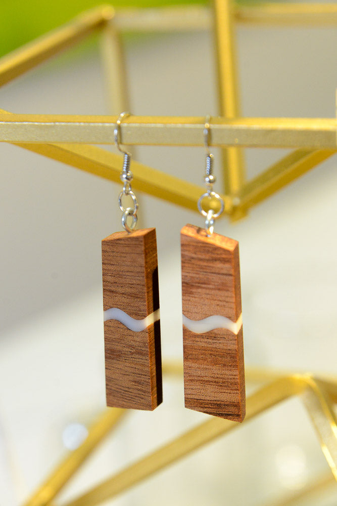 River in the Wood Earrings