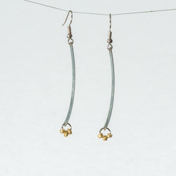 Single Toy Part Dangles with Glass Beads - Earrings