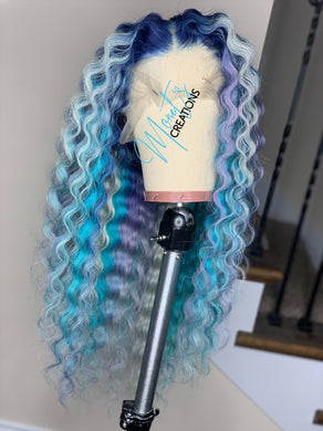 Custom Colored Frontal Wigs