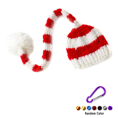 Newborn Baby Christmas Santa Claus Knit Hat