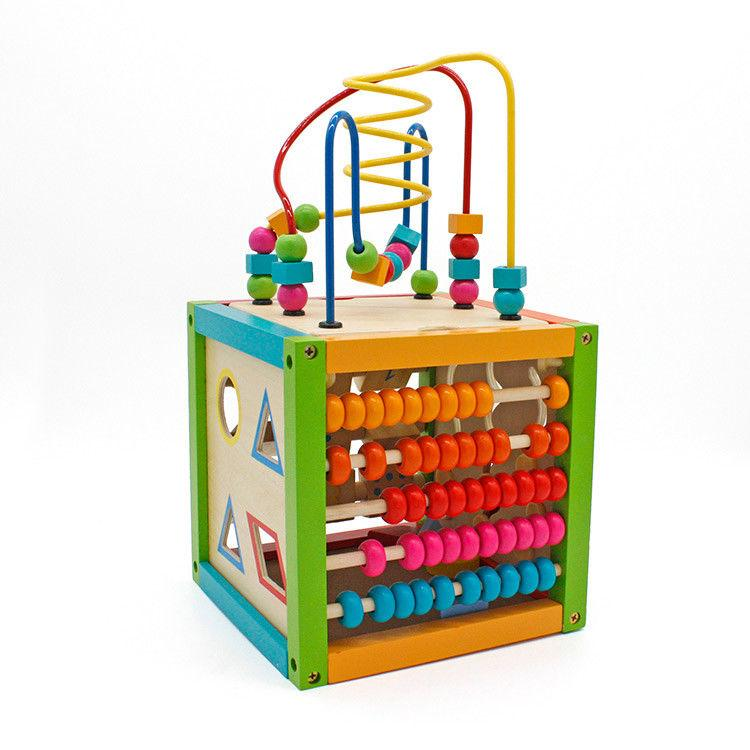 5 in 1 Early Educational Development Maze Cube