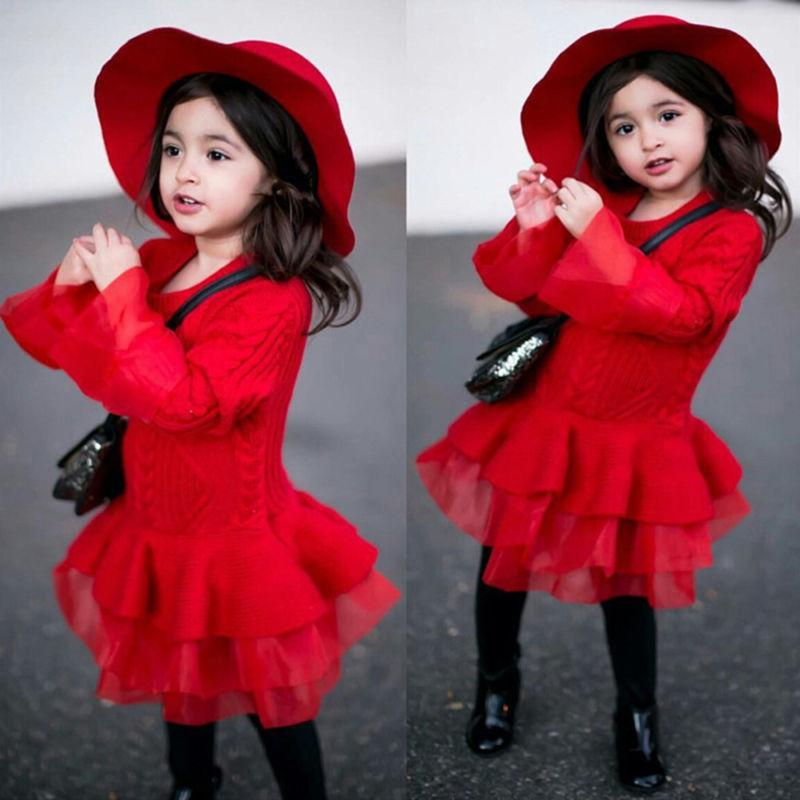 Lullaby Knitted Sweater Dress