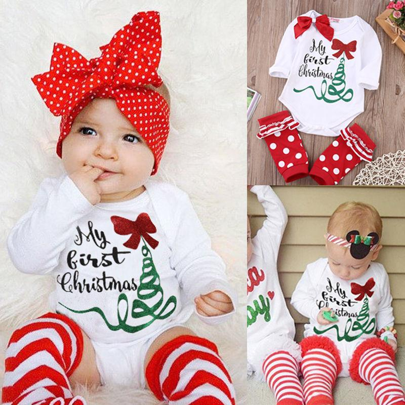 My 1st Christmas Bodysuit 2pcs