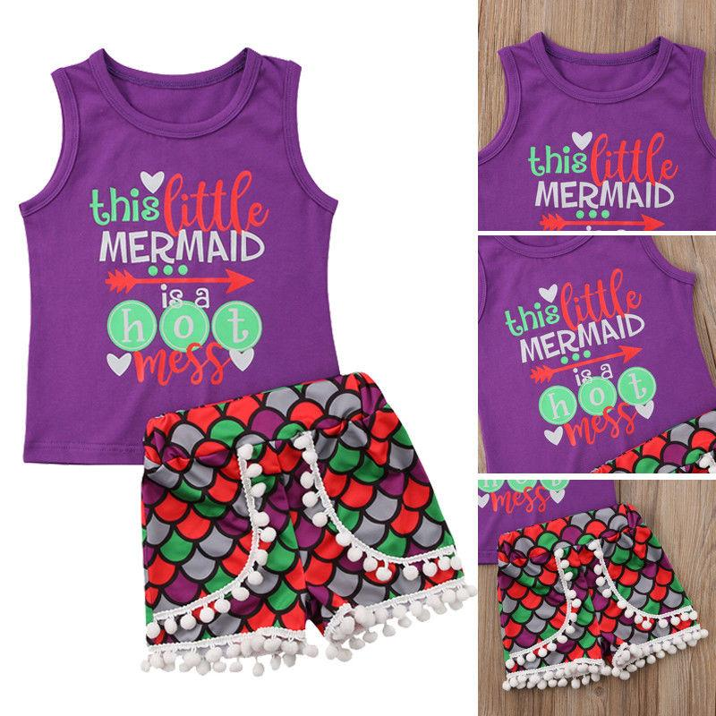 Little Mermaid 2PC Set