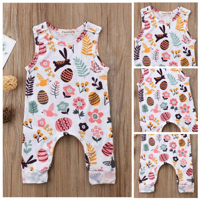 Infant Easter Bunny Jumpsuit