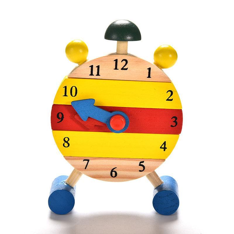Educational Wooden Clock