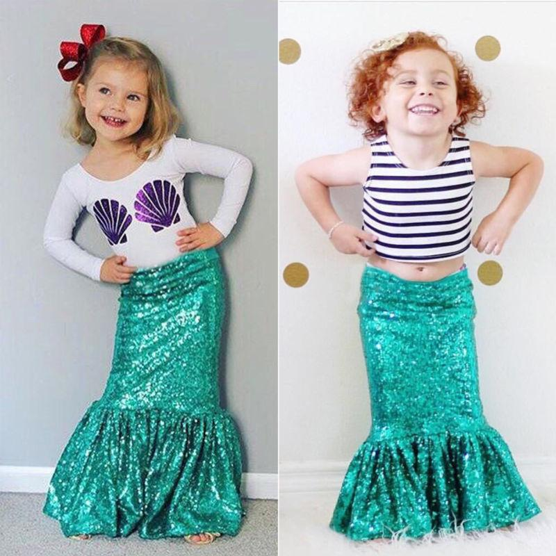 Multi Top and Mermaid Tail Set