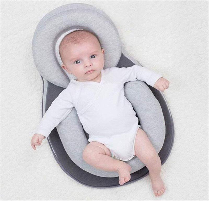 Anti Roll Pillow -anti-Flat Head Crib