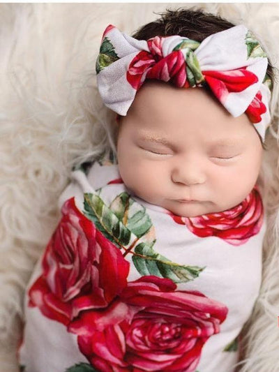Floral New Born Swaddle