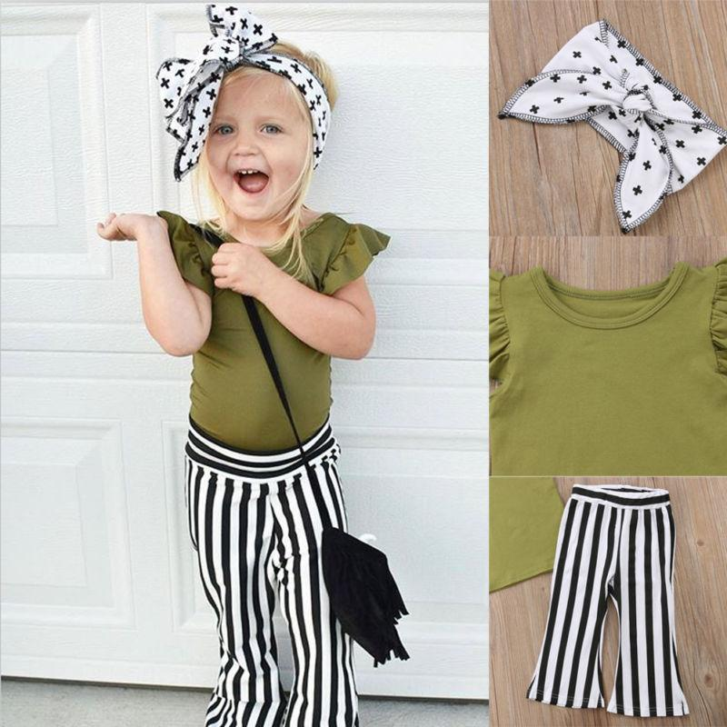 Olive Green Top + Bottom Set