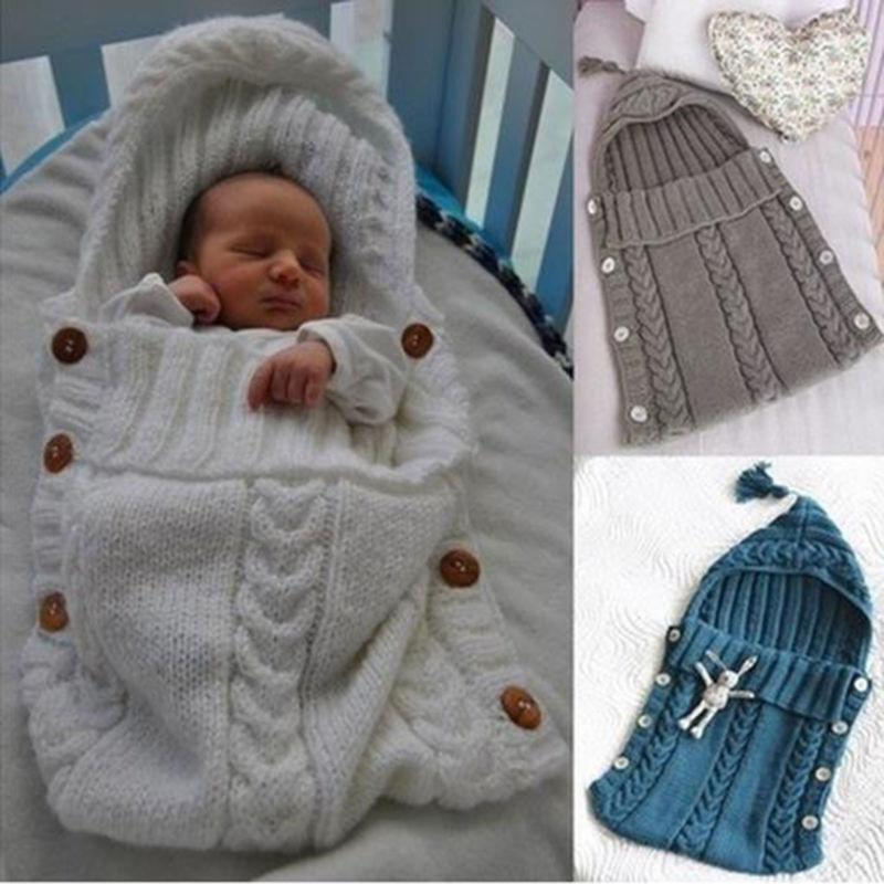 Hand Knit Swaddle Wrap