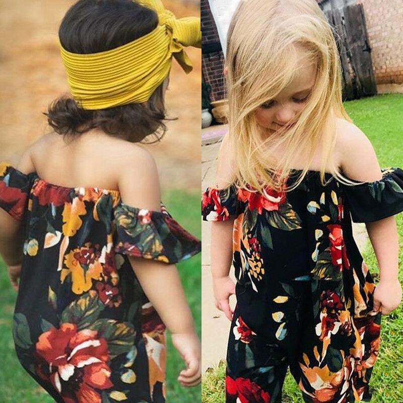 Off Shoulder Flower Bodysuit