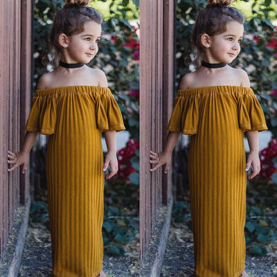 Autumn Off-shoulder Dress