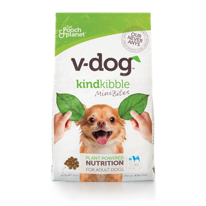V-Dog Kind Kibble Mini Bites (4.5 lb)-Hero Pet Supplies