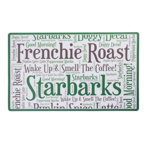 Haute Diggity Dog Starbarks Placemat - Hero Pet Supplies