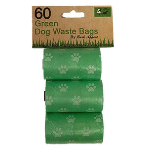 Bark Appeal Inc. 3 Pack 60 Green Waste Bags - Hero Pet Supplies