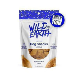 Hero Pet Supplies Wild Earth Peanut Butter Dog Treats - Hero Pet Supplies