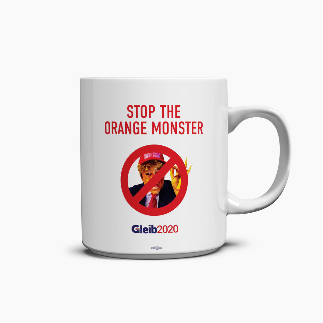 Orange Monster Mug