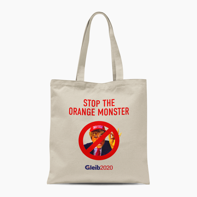 Orange Monster Tote