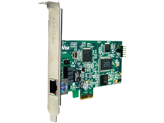 OpenVox D110E Single T1/E1 Port PCI Express Card - Digium, Asterisk, FreePBX