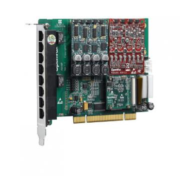 OPENVOX AE810P 8 FXO Analog PCI Card - Digium, Asterisk, FreePBX