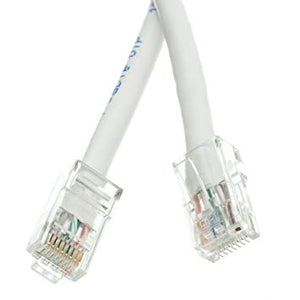 White 4 Inch 10cm Cat5e Cat5 Ethernet Patch Cable Internet Data Cable RJ45 8P8C