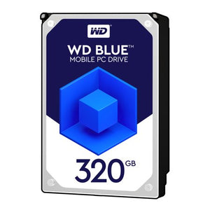 WD Blue 320GB Mobile 7.00mm Hard Disk Drive - 5400 RPM SATA 6Gb/s Cache 2.5 Inch - WD3200LPCX