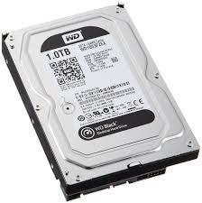 WD Black 1TB Performance Desktop Hard Disk Drive - 7200 RPM SATA 6Gb/s 64MB Cache 3.5 Inch - WD1003FZEX