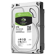 Seagate BarraCuda ST3000DM008 3TB 64MB Cache SATA 6.0Gb/s 3.5