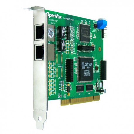 OPENVOX D210P 2-Port T1/E1 PCI Card  - Digium, Asterisk, FreePBX
