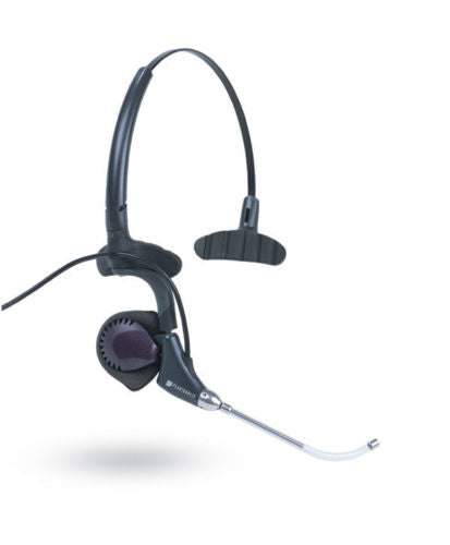 Plantronics H171 DuoPro Mono Convertible Voice Tube Telephone Headset / 61121-02 - Compatible with Yealink Phones