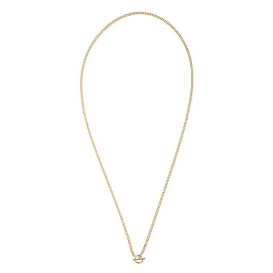 Bloom Mini Toggle Necklace - Gold