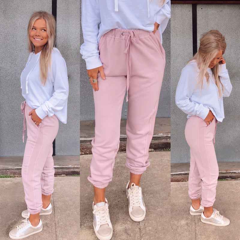 Essential Blush Joggers