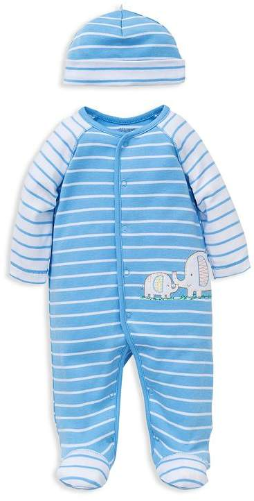 Boys Elephant Footie Set