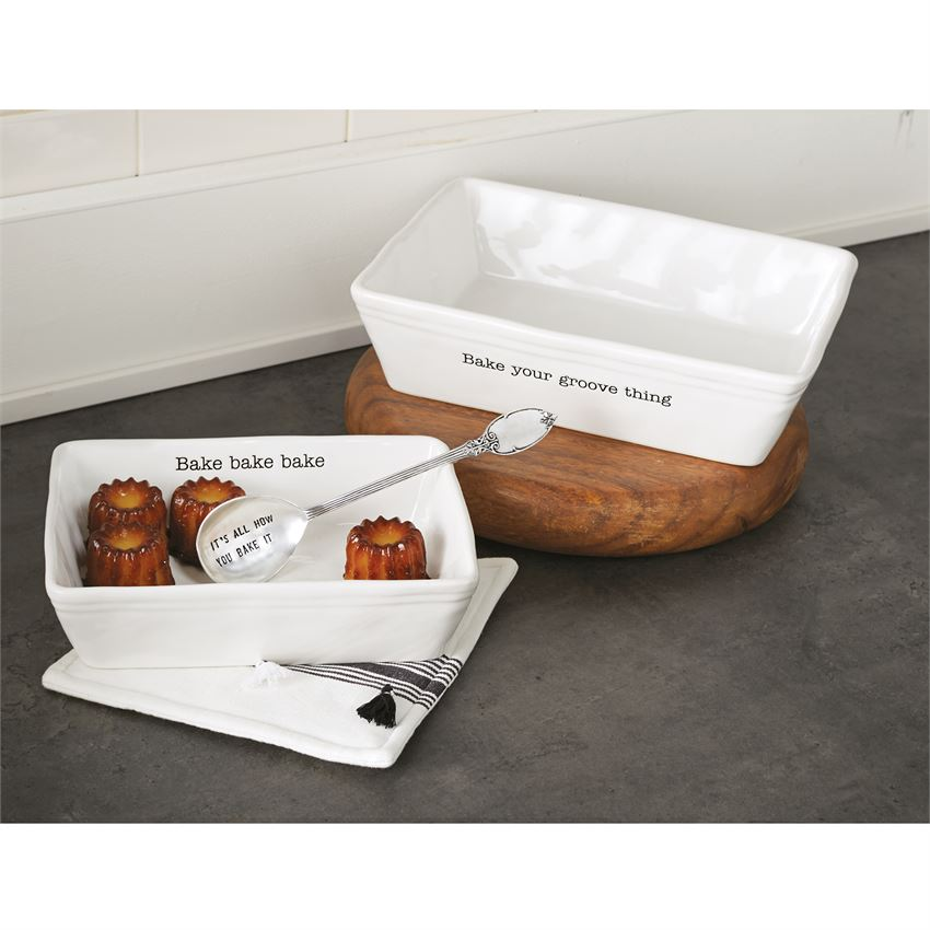 Bake Your Groove Thing - Baking Dish Set