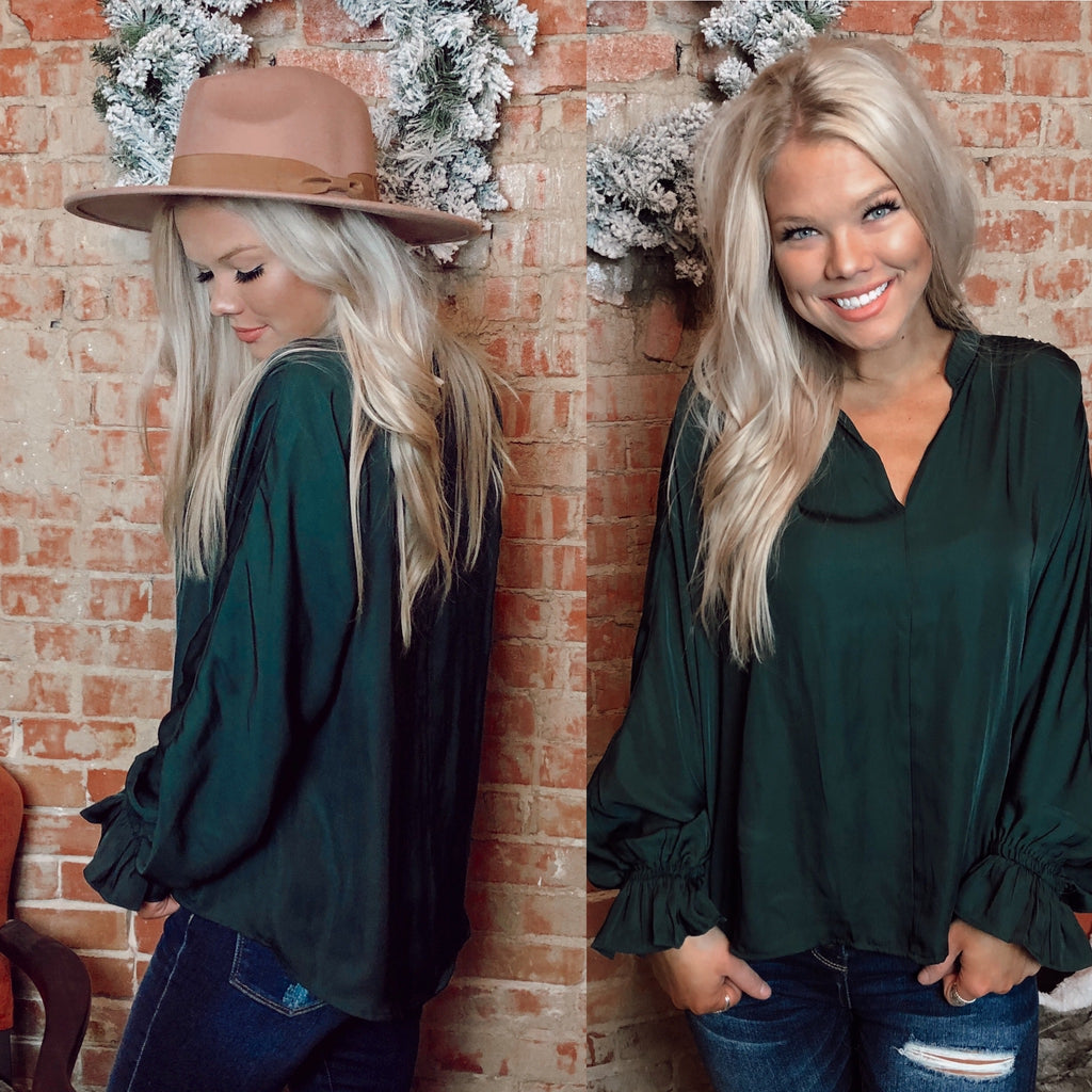 Windsor Hunter V-Neck Top