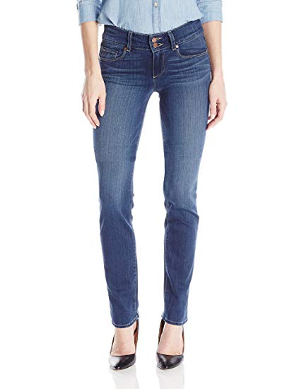 PAIGE Hidden Hills Straight Jeans in Lex