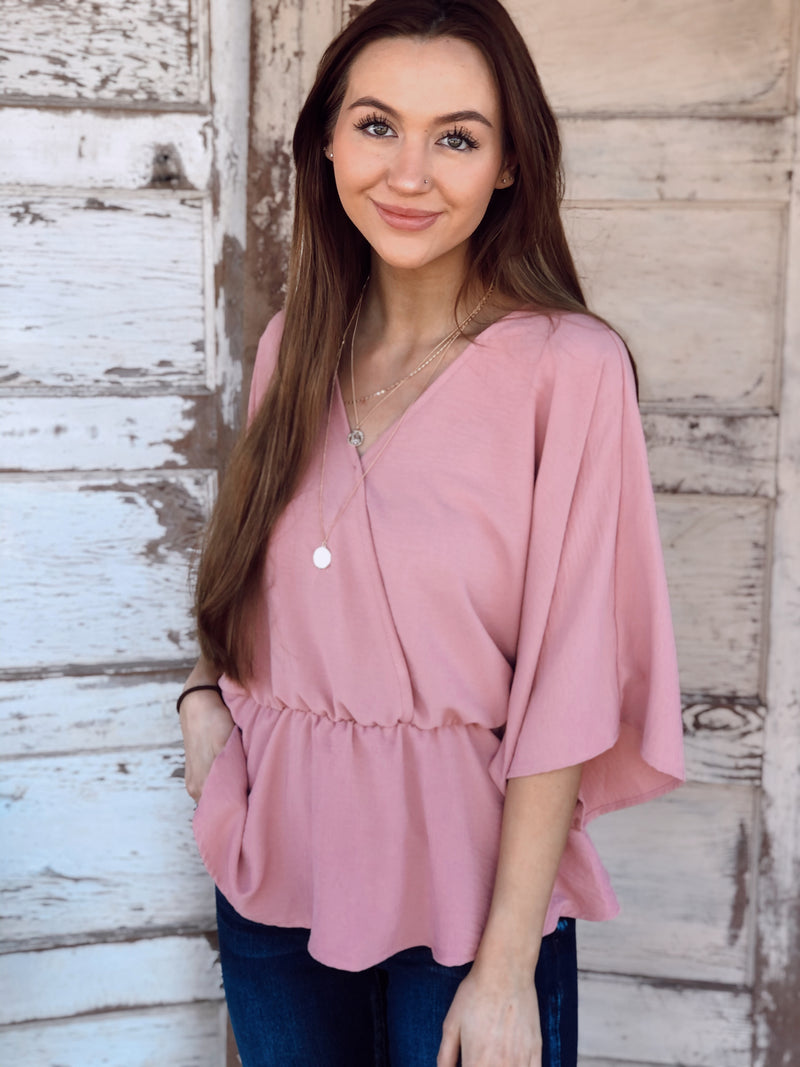 Pink Baby Doll Top