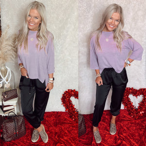 Embry Lavender Top